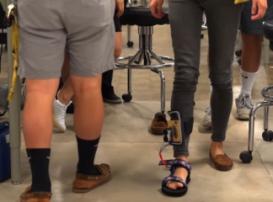 Инновационный вкладыш для обуви поможет людям с периферической невропатией