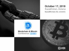 International experts to discuss crypto industry future on October 17 at Blockchain & Bitcoin Conference Kazakhstan