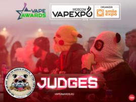 Judges of VAPE Awards – participants of Instagram project Par_nyxa