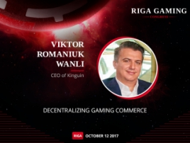 Kinguin.net CEO to tell about blockchain in gaming industry at Riga Gaming Congress