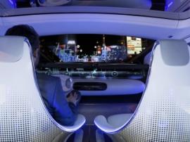 Компания Panasonic презентовала салон беспилотного автомобиля