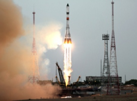 Progress MS-06 spacecraft with valuable cargo aboard heads for ISS