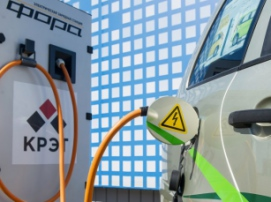 КРЭТ и «Россети» запустили проект по массовой установке заправок для электромобилей