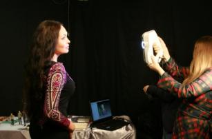 Лариса Луста обзавелась собственной копией из 3D-принтера