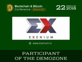 Launching ICO via messenger! Meet exhibition area participant – Exenium.io