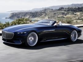 Линейка электрокаров Mercedes-Maybach расширилась новой моделью