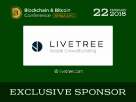LiveTree has become Exclusive Sponsor of Blockchain & Bitcoin Conference Bengaluru