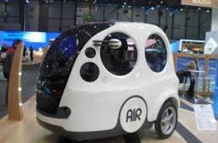 Машина, которая работает на воздухе