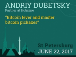 Mastering a bitcoin pickaxe with a cryptocurrency enthusiast Andriy Dubetsky