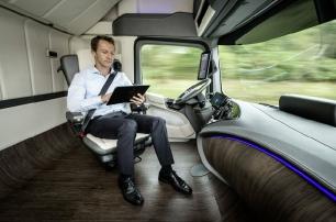 Mercedes-Benz демонстрирует, каким будет грузовик будущего