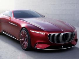 Mercedes-Maybach выходит на рынок электрокаров
