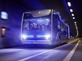 «Мерседес» показала, как будет выглядеть автобус будущего