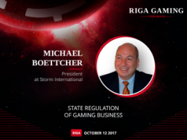 Michael Boettcher, owner of Storm International gambling empire, to speak at RGC
