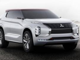 Mitsubishi представила новый гибридный внедорожник GT-PHEV