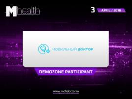 Mobile Doctor representatives to take part in M-Health Congress 2018 demo zone