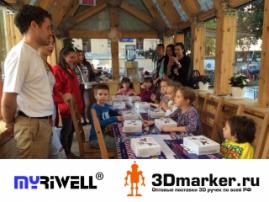 На 3D Print Expo компания 3Dmarker.ru покажет оригинальные 3D-ручки Myriwell