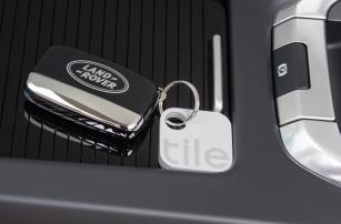 На Land Rover установят специальную систему поиска Tile