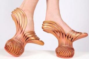 Неймовірний каблук, чи найзручніші в світі туфлі