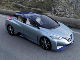 Nissan Leaf преодолеет отметку в 400 километров