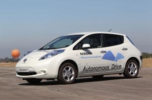 Nissan заявляет о готовности запустить самоуправляемые автомобили в серию уже в 2016 году