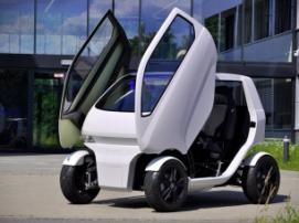 Новая версия электрического мини-автомобиля