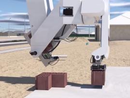 Новая версия робота-каменщика работает в 4 раза быстрее