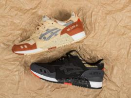 New colors of ASICS GEL-Lyte III: Marzipan & Black Camo