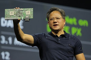Nvidia хочет создать мозг роботизированного автомобиля