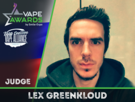The seventh jury member of Vape Awards at VAPEXPO Moscow 2017 is announced!