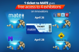 One ticket to MATE conference opens the doors to four grandiose events in the field of innovation!