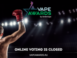 Online voting Vape Awards at VAPEXPO Moscow 2017 is over