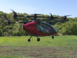 Перші тестування Passenger Drone пройшли успішно!