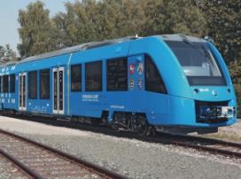Первый пассажирский водородный поезд презентовали в Берлине