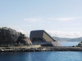 Первый в Европе подводный ресторан откроют в 2019 году