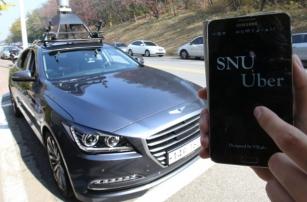 Первое беспилотное такси уже запущено в Сеуле