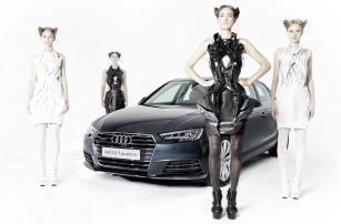 Платья из частей автомобиля