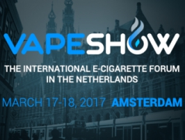 Preparations for the spring VAPESHOW 2017 in Amsterdam are well under way!