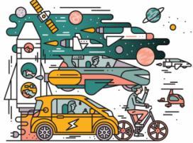 Прогноз на 2018-й: 1 млн электрокаров, беспилотники-убийцы и летающие авто от Tesla