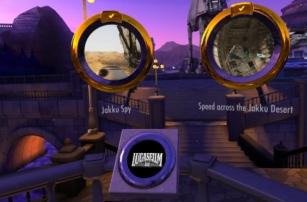 Прогулки по диснеевским фильмам в виртуальной реальности