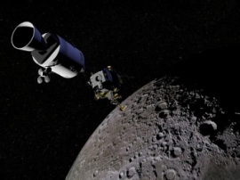 Lost Indian satellite found on the Moon orbit 8 years later