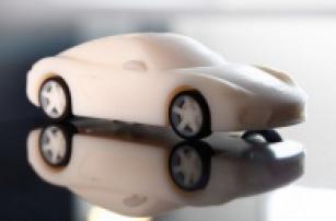 Распечатанный на 3D принтере индивидуальный Porsche Cayman