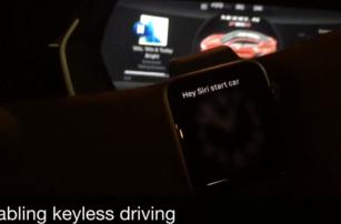 Разработчик представил проект управления автомобилем Tesla с помощью голоса через Siri