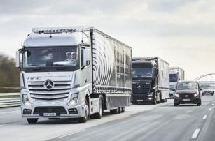 Разработчики Mercedes-Benz успешно протестировали автономные грузовики