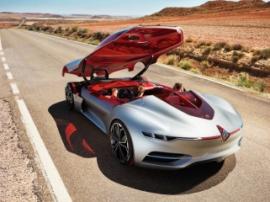 Renault представила прототип футуристического электромобиля, в котором нет дверей