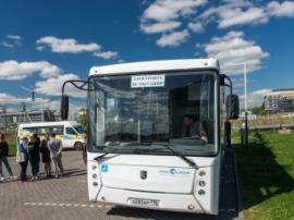 Российский электробус КАМАЗ-6282 начнет курсировать по улицам Москвы