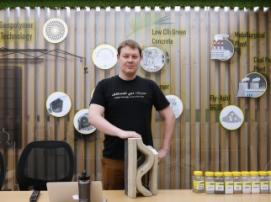 Российско-итальянский стартап создаёт экоматериалы для 3D-строительства в Дубае
