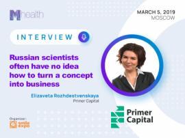 Russian scientists often have no idea how to turn a concept into business: Elizaveta Rozhdestvenskaya, Primer Capital