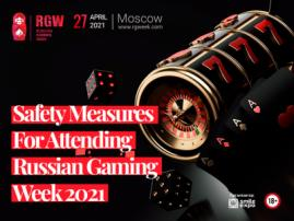 Safety Measures During Your Attendance at Russian Gaming Week 2021. Infographics