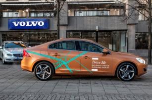 Самоуправляемые Volvo выйдут на дороги в 2017 году