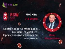 СЕО CASEXE выступит на RGW 2017 в роли докладчика